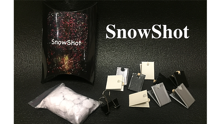 SnowShot (10 ct ) by Victor Voitko (Gimmick and Online Instructions)