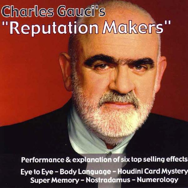 Reputation Makers - Charles Gauci (DVD)
