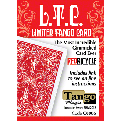 L.T.C Limited Tango Card red