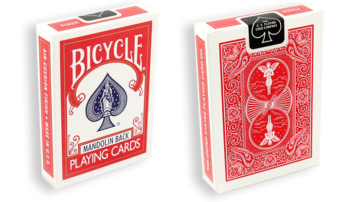 Bicycle Playing Cards 809 Mandolin Back (Blue)