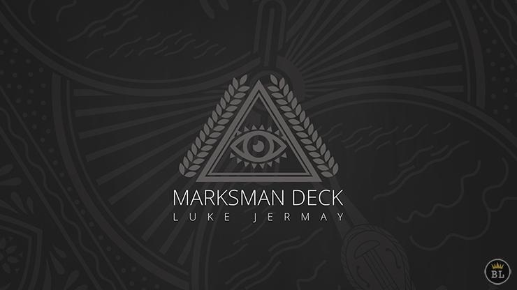 Marksman Deck (DVD and Gimmick) by Luke Jermay