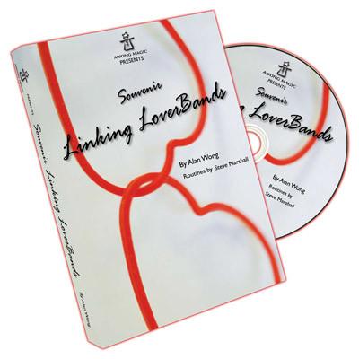 Souvenir Linking Loverbands (20 link, 10 single, DVD) by Alan Wong