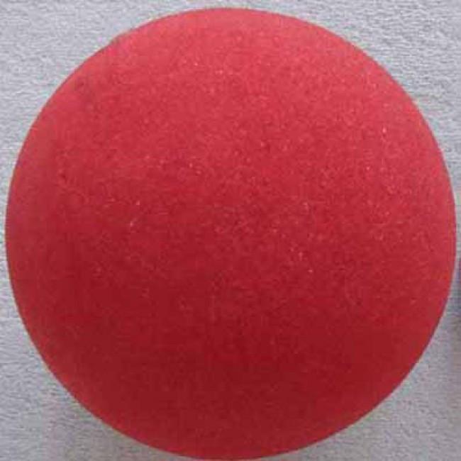 Red Squishy Ball : Sponge Balls Super Soft 3 inches (4 balls) red
