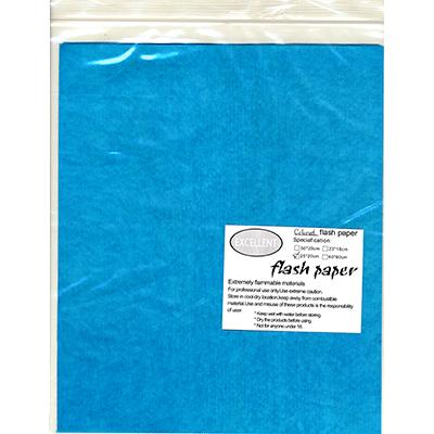 Pyro Papier blau (Flash Paper) - Panda Magic