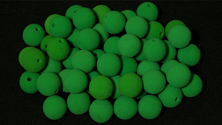 Noses 1.8 inch (Green) Bag of 50 from Magic by Gosh - Schwammbälle