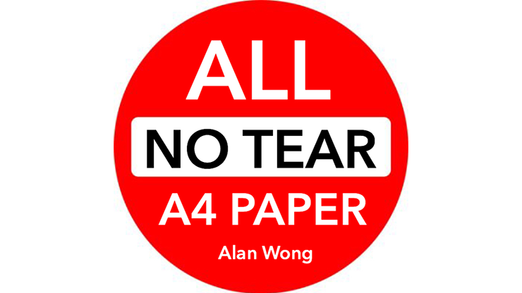 """No Tear Pad (Extra Large, 8.5 X 11.5 """") ALL No Tear by Alan Wong"""