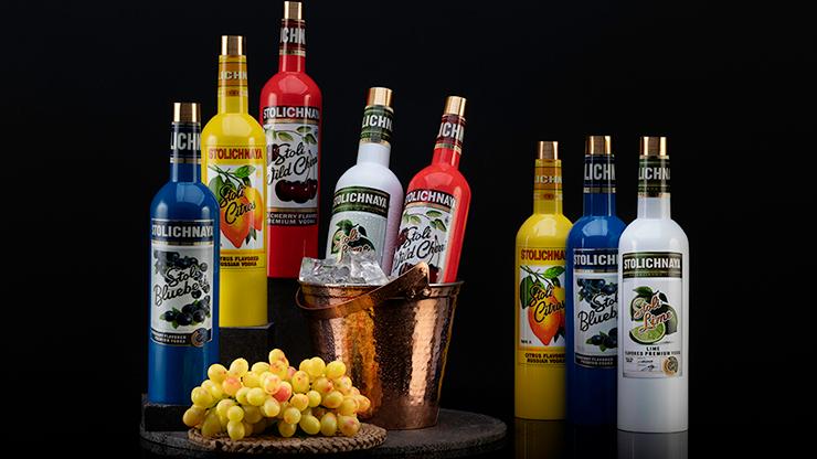 Stolich Multiplying Wine Bottles by Tora Magic