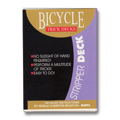 Stripper Deck Bicycle blau by US Playing Card