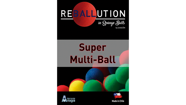 Super Multi Ball (Gimmicks and Online Instructions) by Aprendemagia