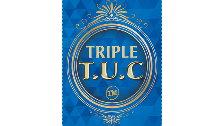 Triple TUC Half Dollar (Gimmicks and Online Instructions) by Tango