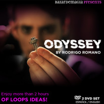 Odyssey by Rodrigo Romano and Bazar de Magia (2 DVD Set) Loops