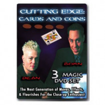 Cutting Edge Cards & Coins 3 DVD Set - Born Dean