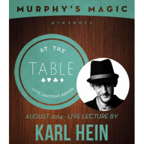 At the Table Live Lecture - Karl Hein 8/6/2014 - video DOWNLOAD
