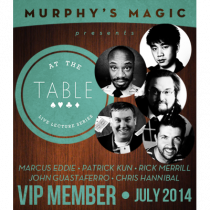 At The Table VIP Member July 2014