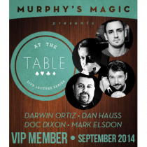 At The Table VIP Member September 2014