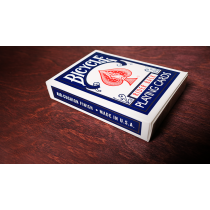 Bicycle Playing Cards Poker (Blue) by US Playing Card Co - alte Kartenschachtel