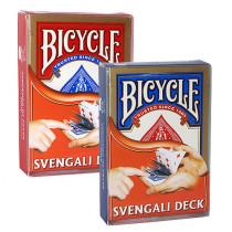 Bicycle Svengali Deck rot oder blau
