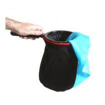 Change Bag Velvet REPEAT (All Black) by Bazar de Magia  - Changierbeutel 3-fach Samt