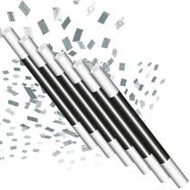 Climax Wand - Silver confetti