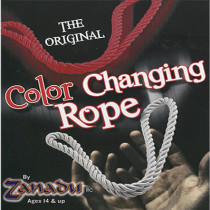 Amazing Color Changing Rope (Red/White) by Zanadu