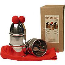 Cups & Balls Aluminum Regular by Bazar de Magia