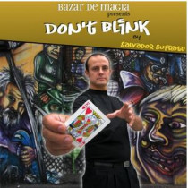 Don't Blink (DVD and Gimmick) by Salvador Sufrate and Bazar de Magia