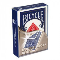 Bicycle deck - Double Back blue