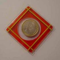 Crystal Coin Case