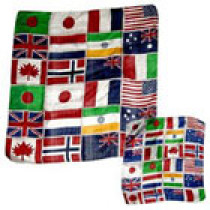 Flags of Nations Silk