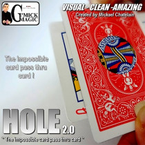 HOLE 2.0 (BLUE) by Mickael Chatelain