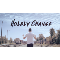 Holely Change Blue (DVD and Gimmicks) by SansMinds Creative Lab