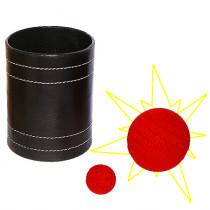 Leather Chop Cup - Jumbo