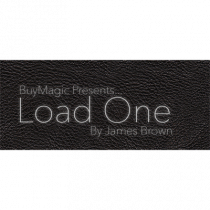 Load One - Card to Phone Wallet (Large/Black) by U.K. Magic Tricks