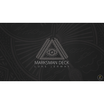 Marksman Deck (DVD and Gimmick) by Luke Jermay