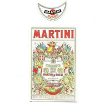 Label for Vanishing Bottle: Martini Rossi