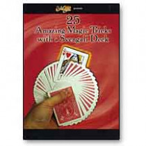 25 Amazing Magic Tricks with a Svengali Deck - DVD