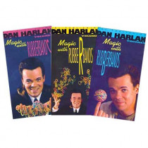 Magic with Rubberbands by Dan Harlan Vol 3 (DVD)