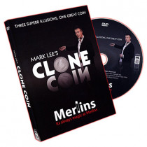 Clone Coin - Euro Coin (With DVD) by Mark Lee