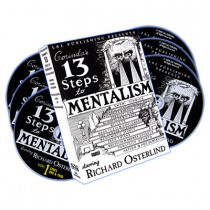 13 Steps To Mentalism (6 DVDs) - Richard Osterlind (DVD)