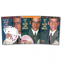 Easy to master card miracles by Michael Ammar Vol 6 (DVD)