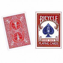 Bicycle deck - Three Way Forcing (red back)