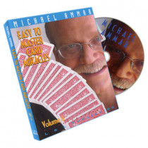 Easy to master card miracles by Michael Ammar Vol 8 (DVD)