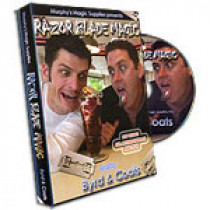 Razor Blade Magic DVD by Byrd and Coats