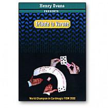 Tribute to Varone Henry Evans