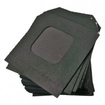 Nest of Wallets Refill Envelopes 50 units (Black with Window)