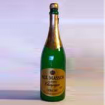 "Vanishing ""Sparkling Wine"" Bottle"