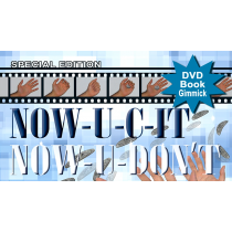 Special Edition NOW-U-C-IT, NOW-U-DON'T (DVD, Book and Gimmick) by Jeff Stewart and Meir Yedid
