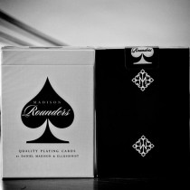 Rounders Playing Cards by Madison (Black)