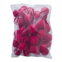 "1.5"" 4cm  50 Pieces of Super Soft Sponge Balls (Red)"