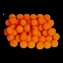 "1.5"" Super Soft Sponge Ball (Pack 50 Schwammbälle orange) 4 cm by Gosh"